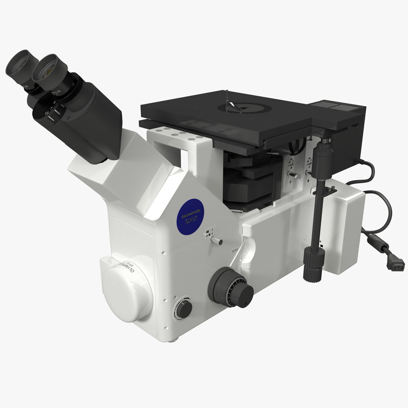 3d inverted metallurgical microscope olympus model
