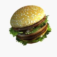 Sandwich Lowpoly
