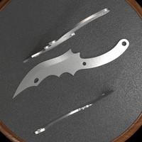 3dsmax throwing knife