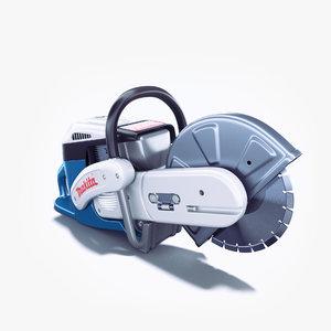 power cutter 3d model