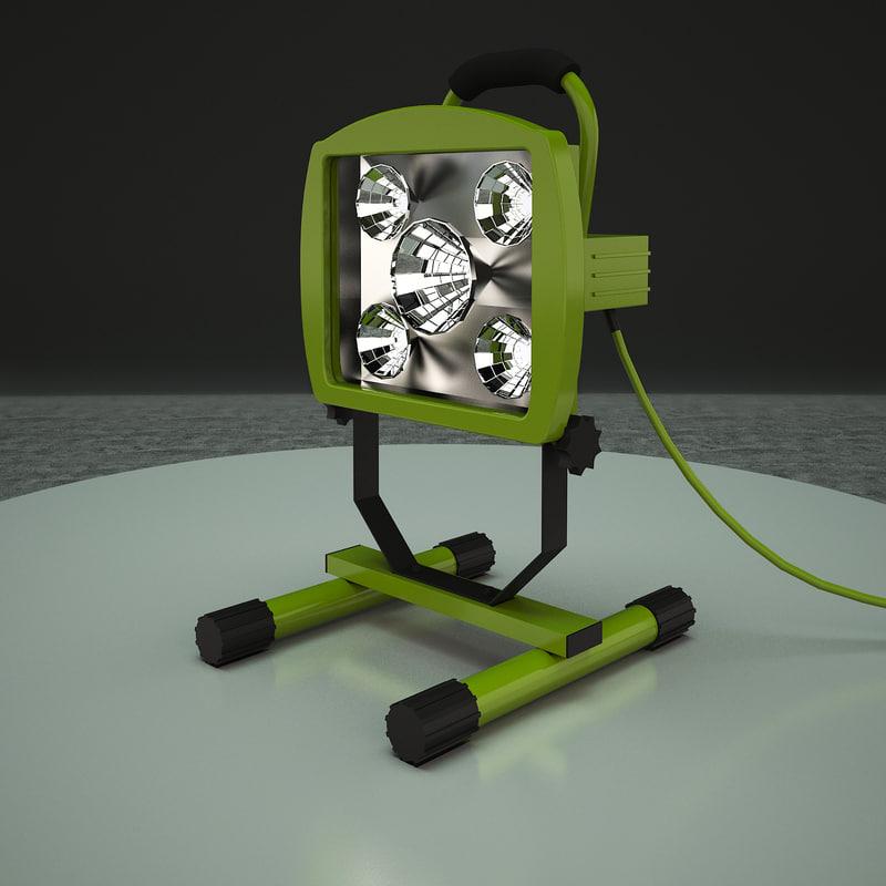 work light 3d model