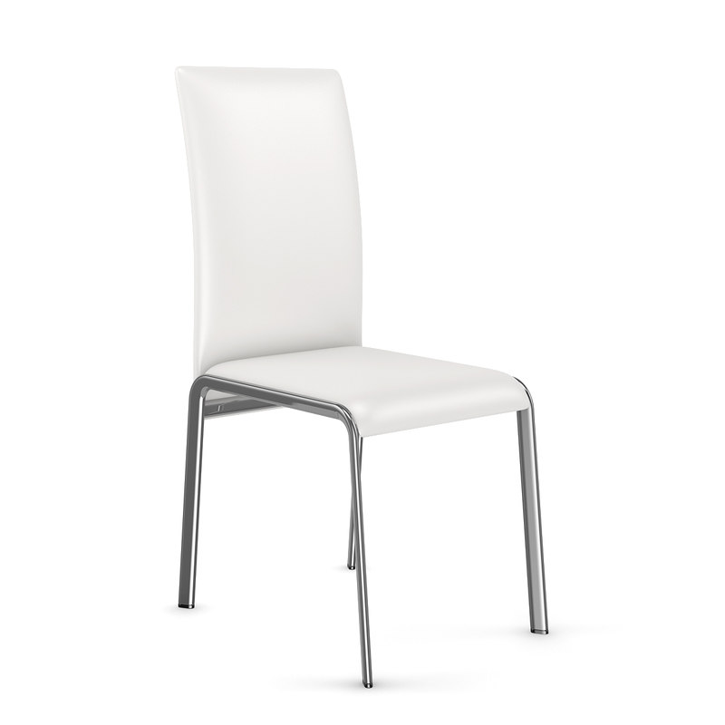 white chair 3d c4d