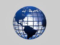3d model globe news