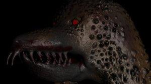 reaper monster 3d obj