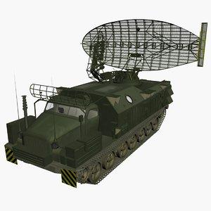3d model of long track