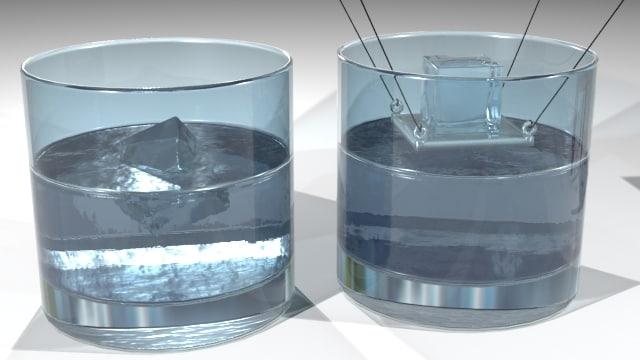3d icecube physical school experiment