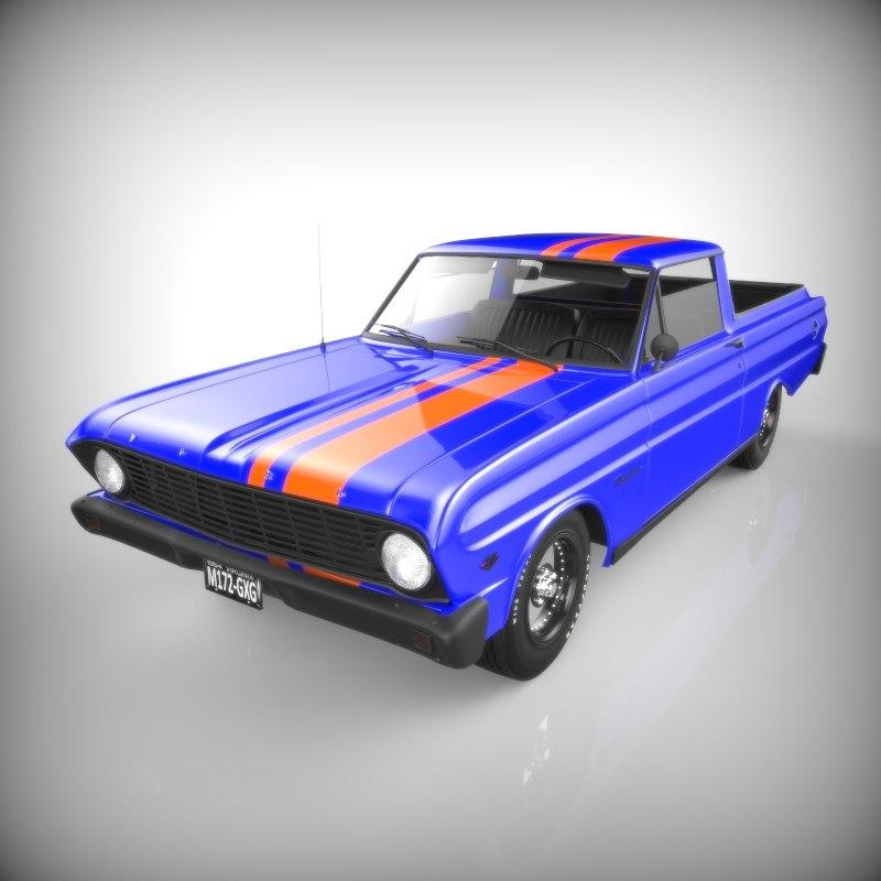 ranchero coupe pickup max