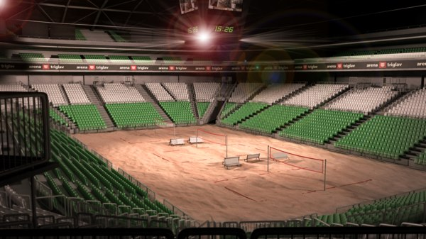 volleyball arena 3d ma
