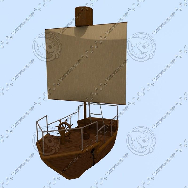 sailing ship rpg 3d 3ds