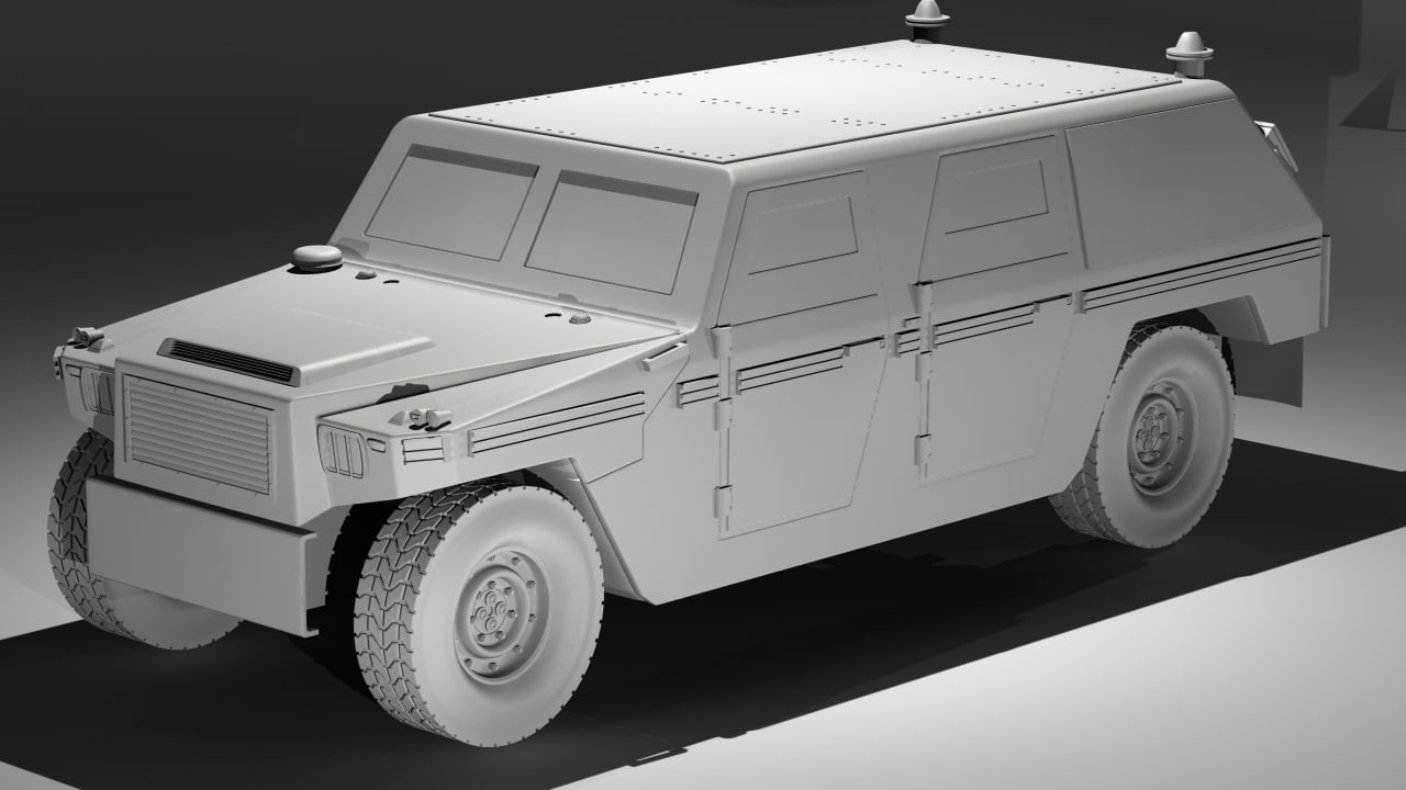 mowag eagle ii 3d model