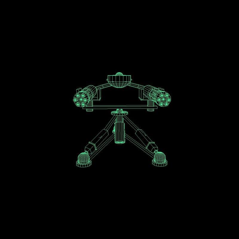 3d automatic turret
