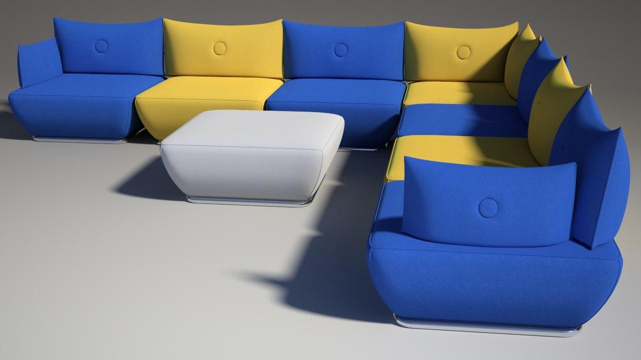3d dunder s600 sofa