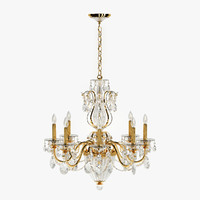 schonbek calima chandelier bt1245 3d model