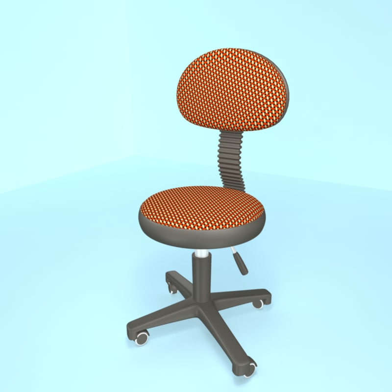 free obj model home chair