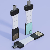 3d culcharge micro usb model