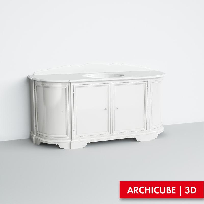 3ds max furniture bathroom