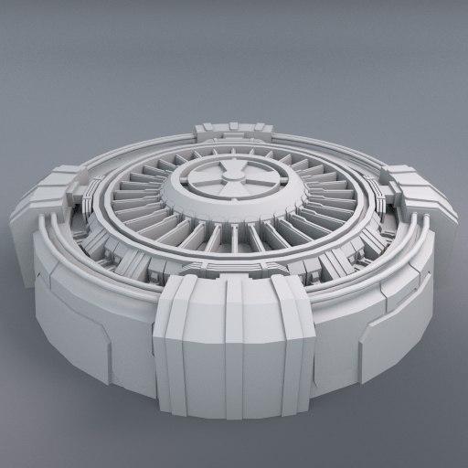 3d generator space model