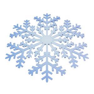 3d max snowflake snow flake