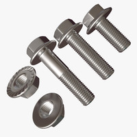 Hex Flange Nut And Bolt Collection