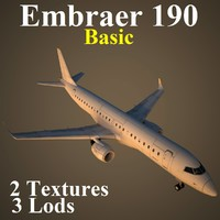 3d model embraer basic