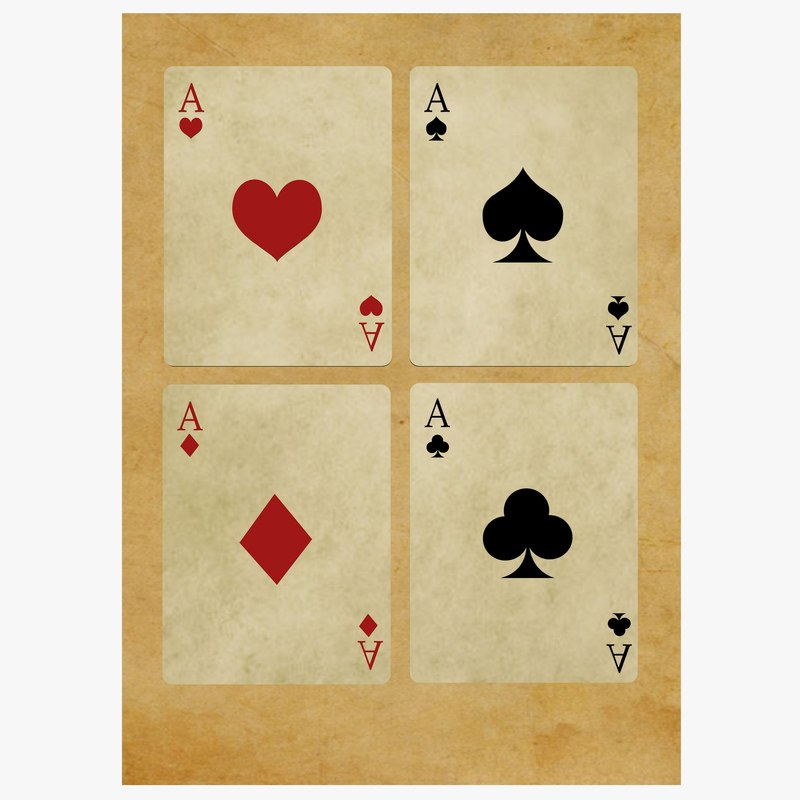 poker cards 3d 3ds