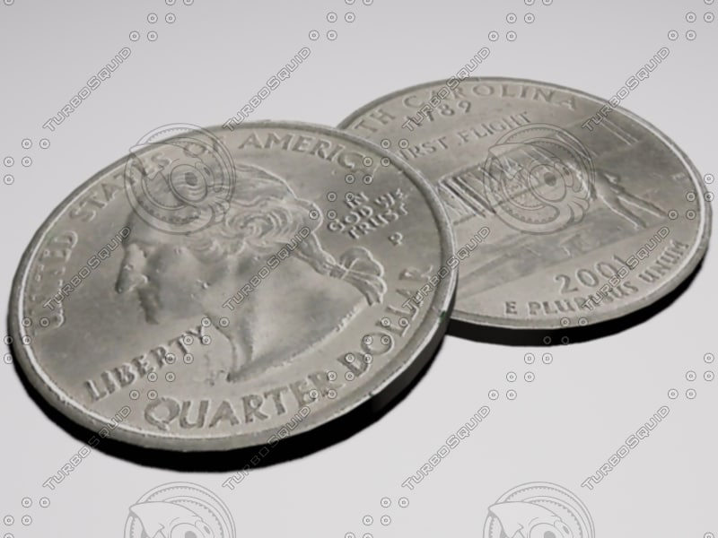 obj quarter dollar