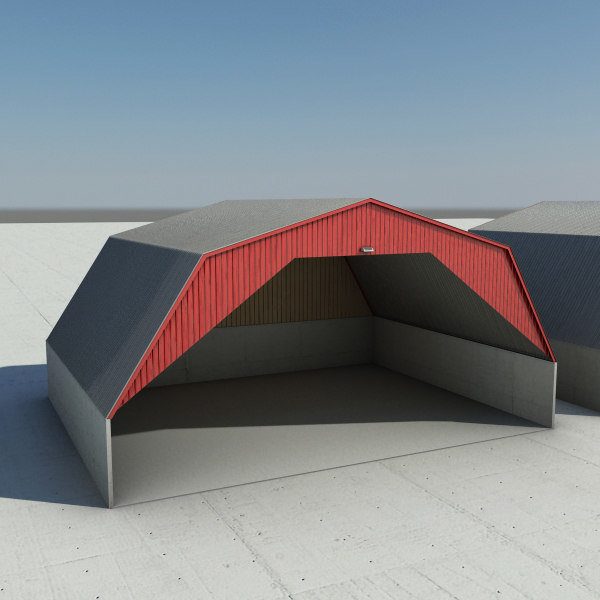 3d model transit salt barn