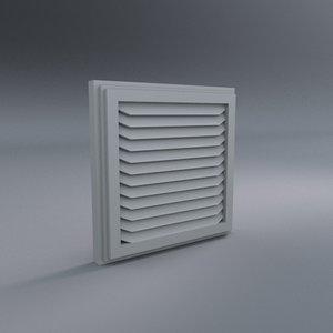 3d square vent
