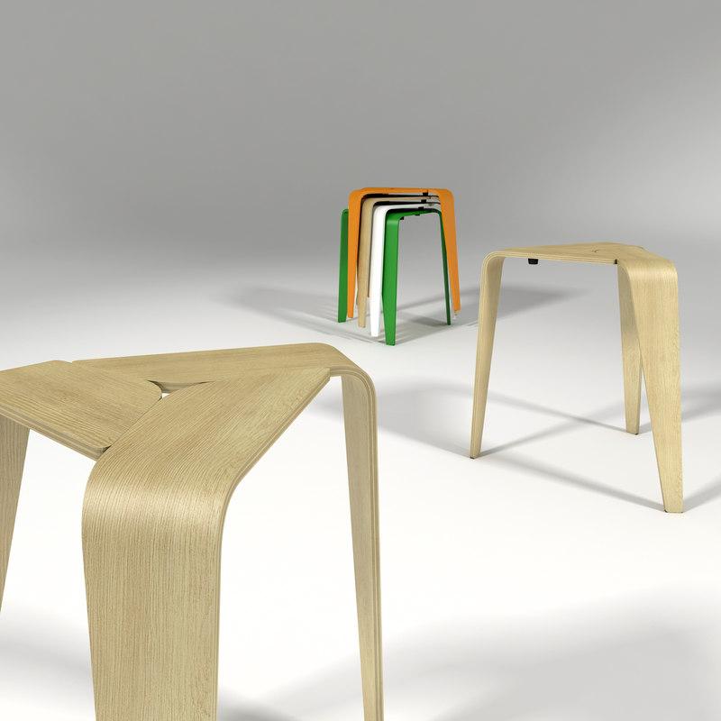 max legged stool designed