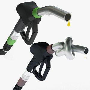 fuel gas nozzle 3ds