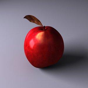 apple adam eve 3d model