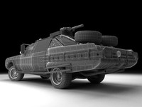 post apocalyptic car 1970 Chrysler New Yorker