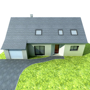 french house exterior max