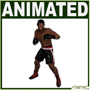 3d model human athletic