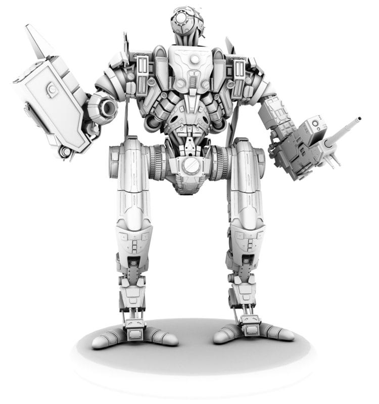3d model rabot
