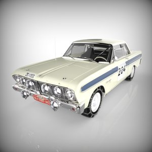 3ds max rallying racing auto