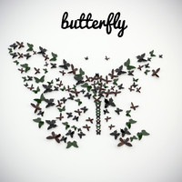 """panel """"butterfly"""