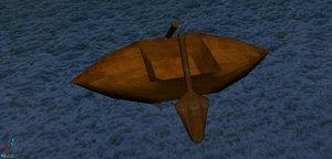 3ds max small boat