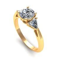 Engagement Ring Three Stone R45