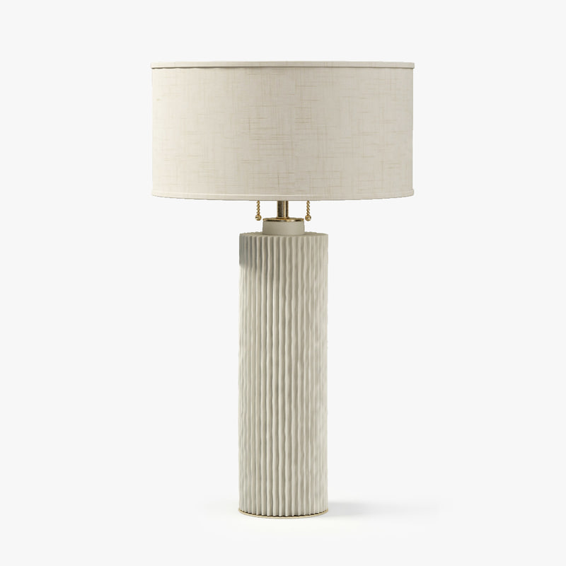 baker finne table lamp 3d obj