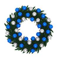 wreath christmas 3d model