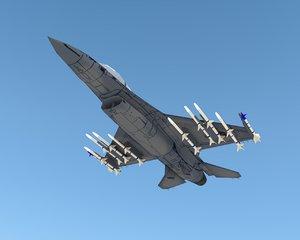 f 16 falcon 3d 3ds