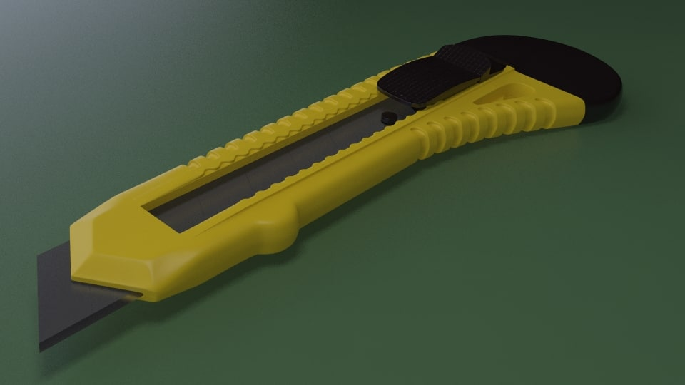 3ds max utility knife
