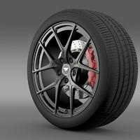 Porsche 991 V GT 2014 wheel