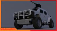 gurkha police armoured 3d 3ds