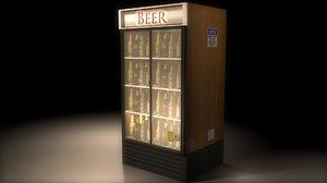 3d bar refrigerator