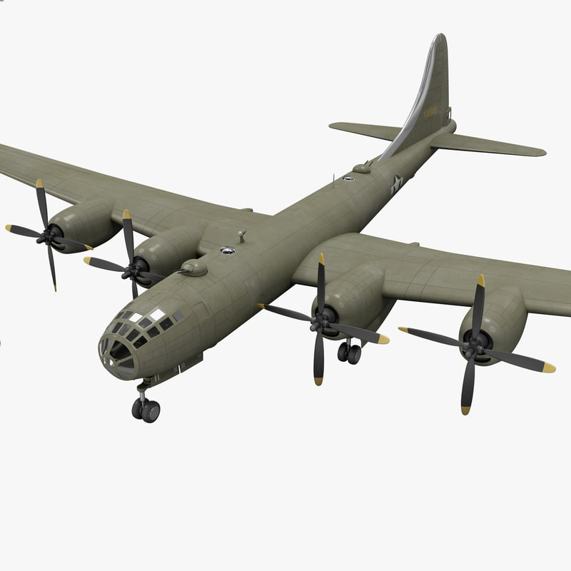 max boeing b-29 superfortress