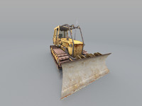 tac bulldozer 3d model