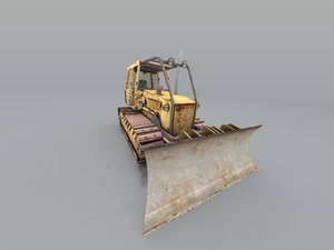 tac bulldozer 3d model