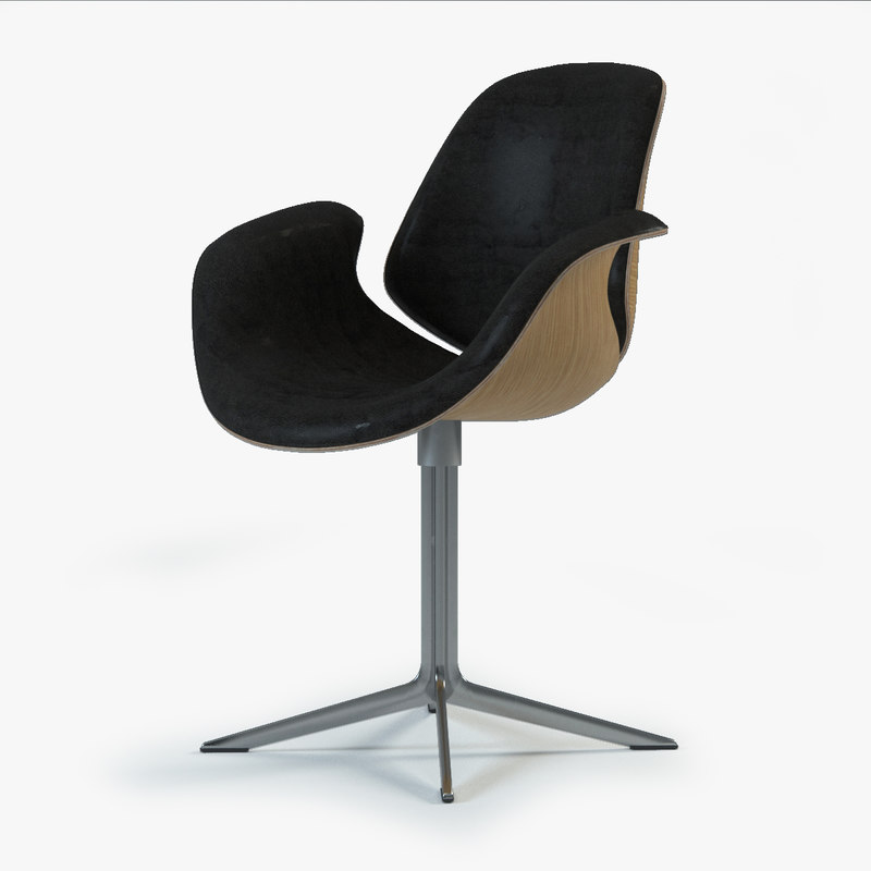 3ds max council chair
